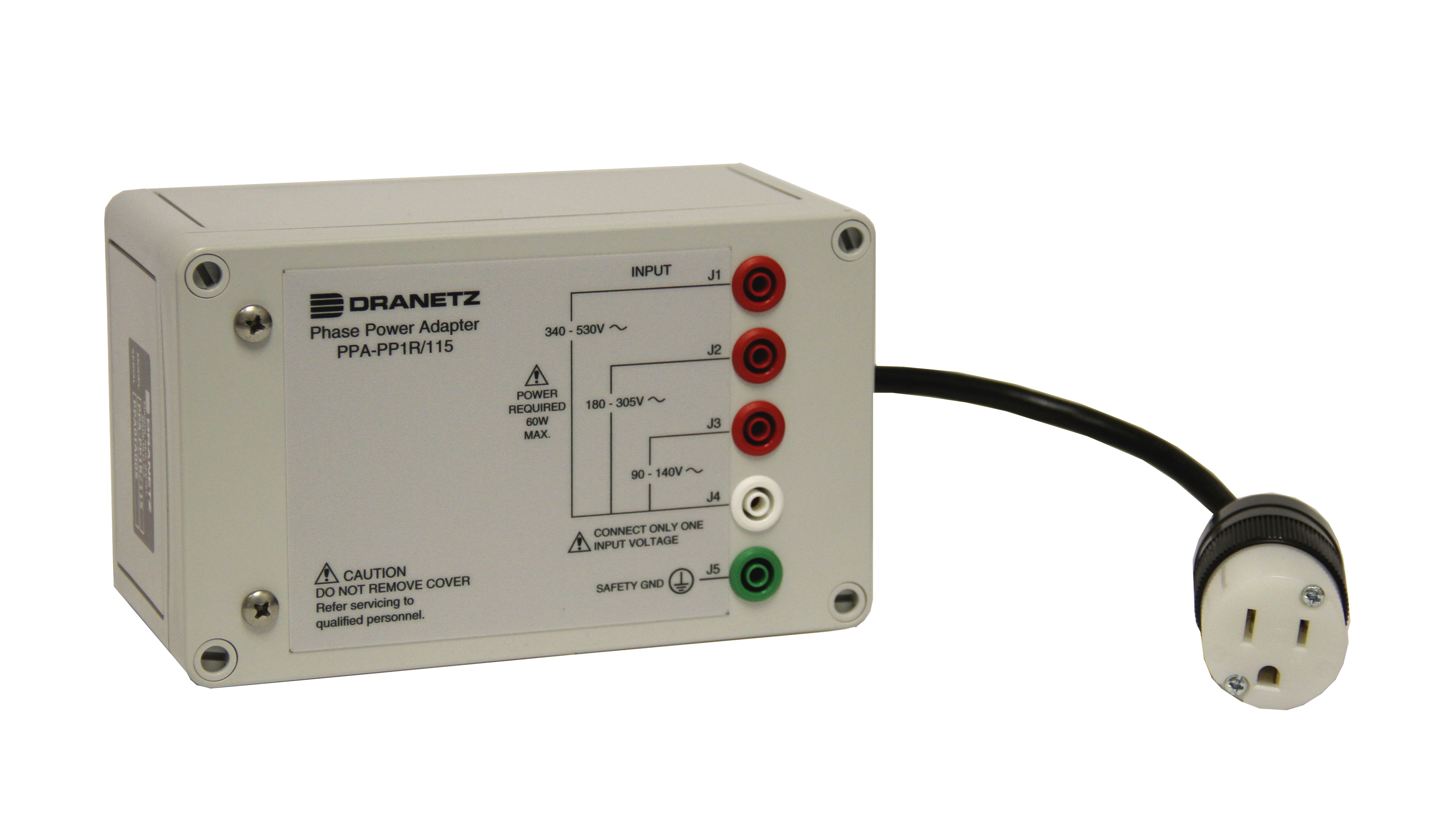 Dranetz PPA-PP1R-115 Phase Power Adapter